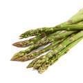 Fresh green asparagus on a white background. - PhotoDune Item for Sale