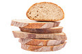 Stack of slices of bread isolated on white background. - PhotoDune Item for Sale