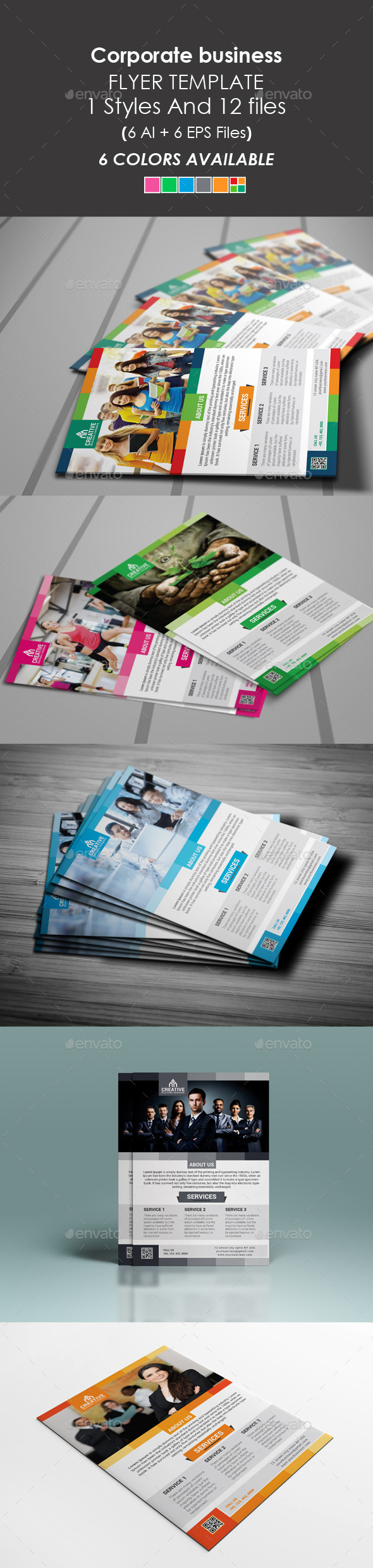 GraphicRiver Corporate Business Flyer 9345154
