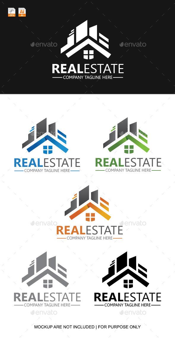 GraphicRiver Real Estate Logo Template 9345155