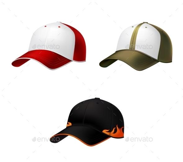 GraphicRiver Baseball Cap 9345218