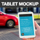 8 White Portrait Tablet Mockup in the City - GraphicRiver Item for Sale