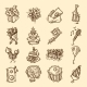 Birthday Icon Set - GraphicRiver Item for Sale