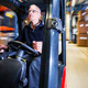 driving a forklift - PhotoDune Item for Sale