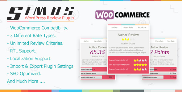 Simos - WordPress Review Plugin - CodeCanyon Item for Sale