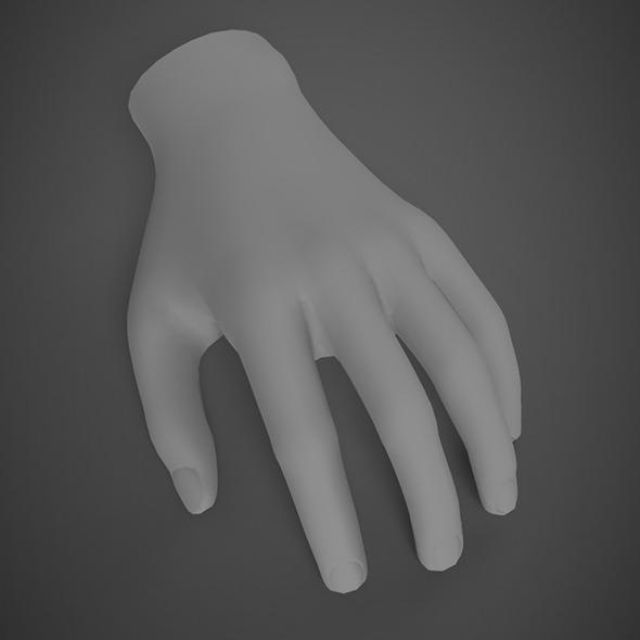 Hand base mash - 3DOcean Item for Sale