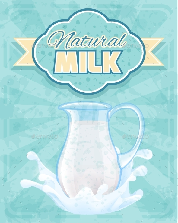 GraphicRiver Milk Pitcher Poster 9345817