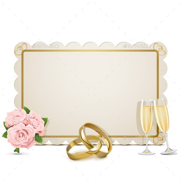 GraphicRiver Wedding Frame 9345868