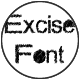 Excise Font - GraphicRiver Item for Sale