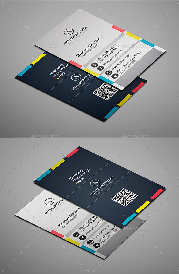 GraphicRiver Simple Business Card Vol XV 9346712