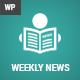 WeeklyNews – Premium WordPress News/Magazine Theme (News / Editorial) Download