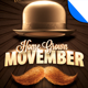 Movember Home Grown Moustache Party Flyer Template - GraphicRiver Item for Sale