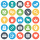 Social Media and Networking Icons - GraphicRiver Item for Sale