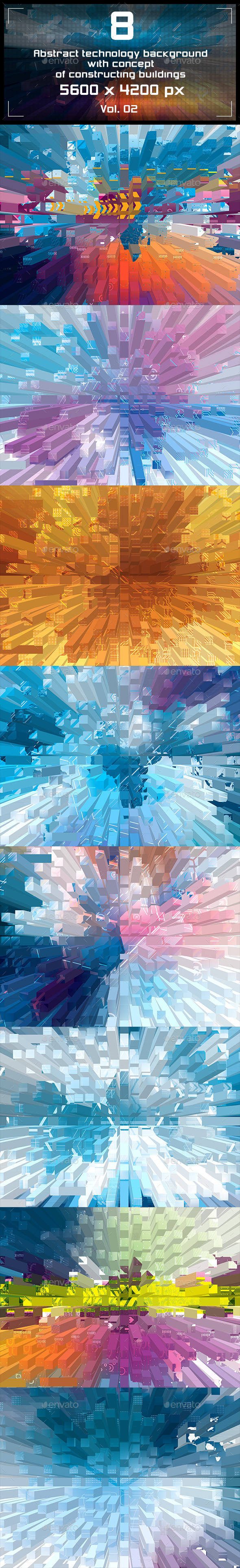 GraphicRiver Abstract Background Technology 9348100