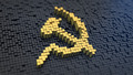 Hammer and sickle cubics - PhotoDune Item for Sale