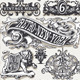 Vintage Page Hand Drawn Banners and Labels - GraphicRiver Item for Sale