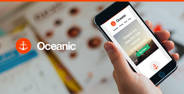 Oceanic Modular Responsive Email Template