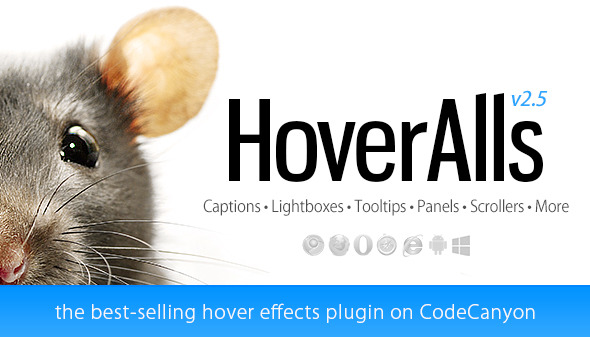 HoverAlls - Hover Effects Framework - CodeCanyon Item for Sale