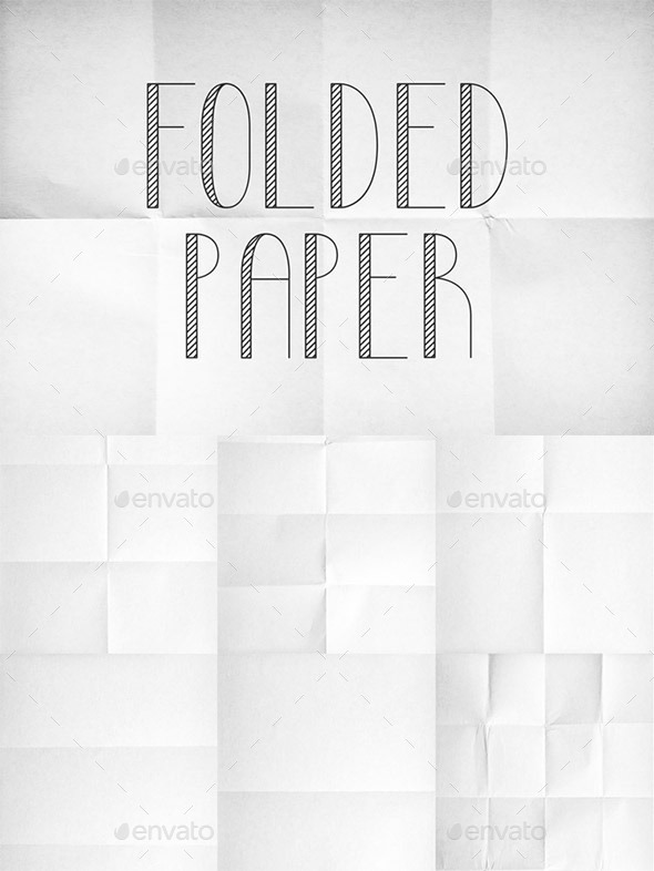 GraphicRiver Folded Paper Texture Pack 1 9349463