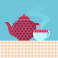 Tea pot and cup - PhotoDune Item for Sale