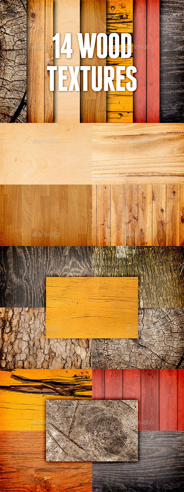 GraphicRiver Wood Textures Pack 3 9349669
