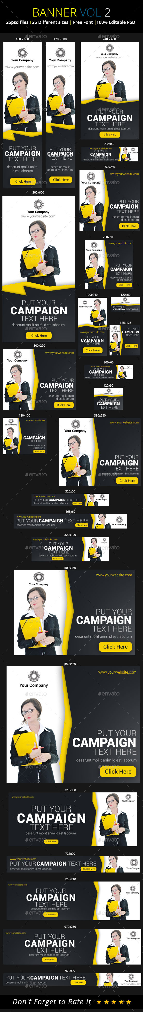 GraphicRiver Multipurpose Banner 9349767