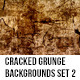 Cracked Grunge Backgrounds Set 2 - GraphicRiver Item for Sale