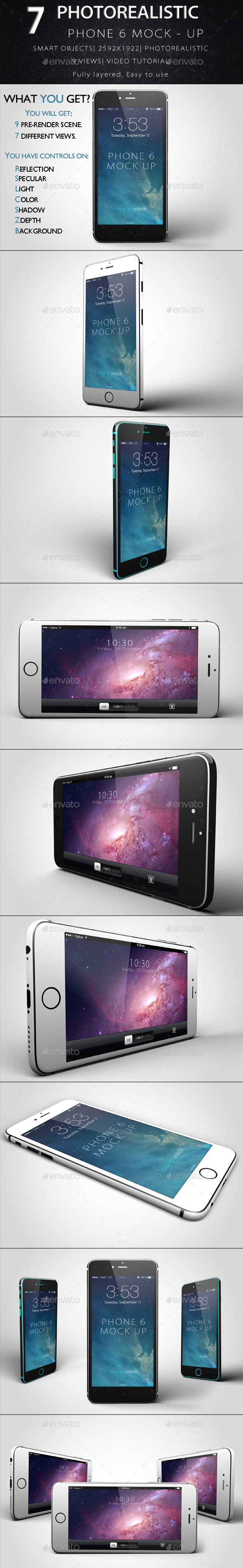 Phone 6 Mock-Up
