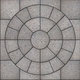 Gray Pavement  Slabs in the Form of Circle. - PhotoDune Item for Sale