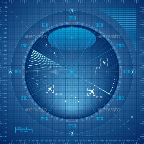 GraphicRiver Radar Screen 9350529