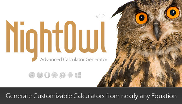 NightOwl Advanced Calculator Generator