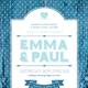 Shabby Chic Wedding Invite - GraphicRiver Item for Sale
