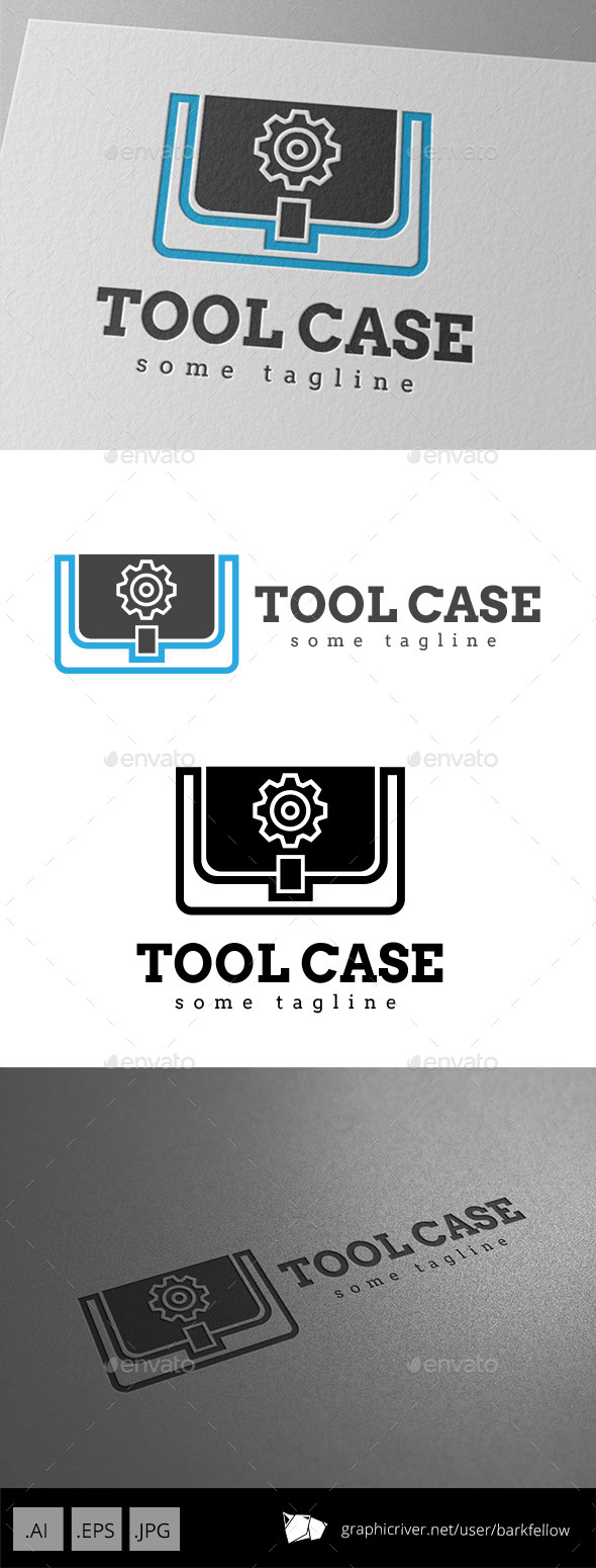GraphicRiver Tool Case Gear Logo 9350748