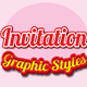 Invitation Graphic Styles for Ai - GraphicRiver Item for Sale