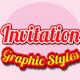 Invitation Graphic Styles for Ai - GraphicRiver Item for Sale