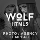 Wolf - Responsive Creative HTML5 Template - ThemeForest Item for Sale
