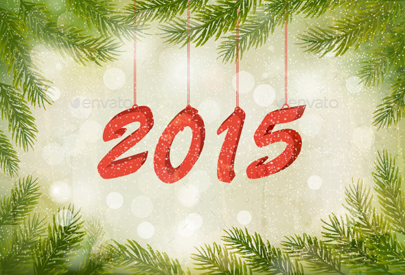 GraphicRiver Happy New Year 2015 9351037