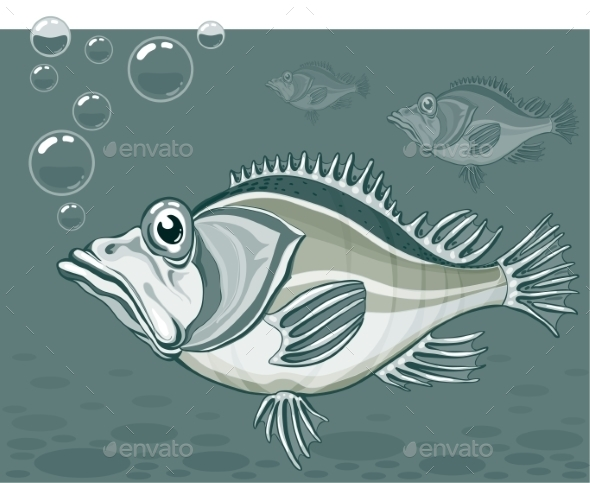 GraphicRiver Fish 9351074