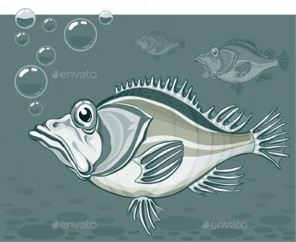 GraphicRiver Fish 9351074