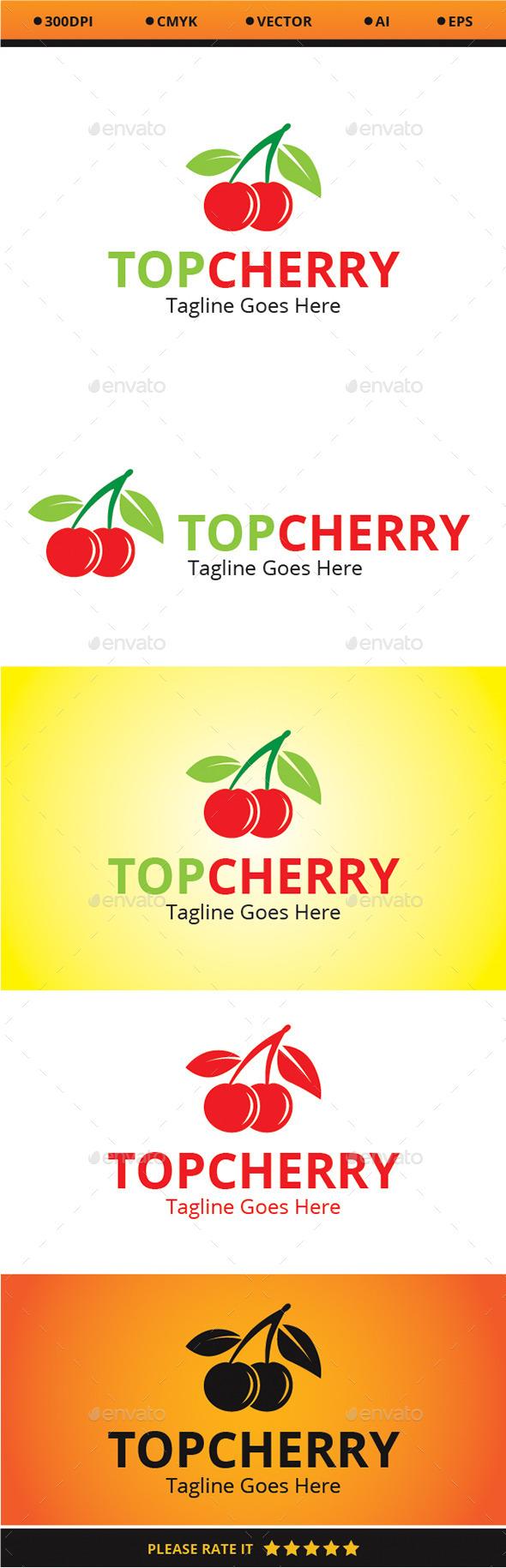 GraphicRiver Top Cherry Logo 9351092