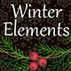 Winter Elements - GraphicRiver Item for Sale