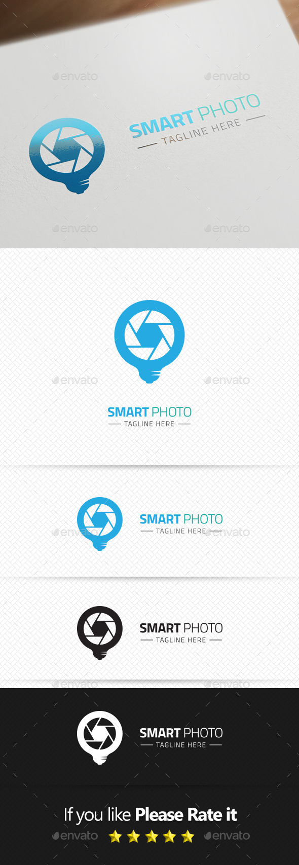 GraphicRiver Smart Photo Logo Template 9351174