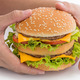 Hamburger isolated  - PhotoDune Item for Sale