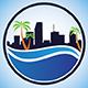 Miami Skyline - GraphicRiver Item for Sale