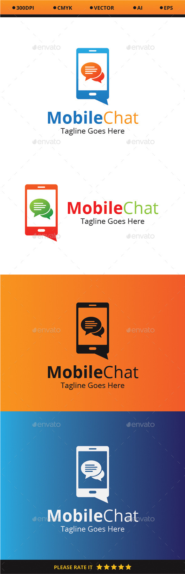 GraphicRiver Mobile Chat 9351330