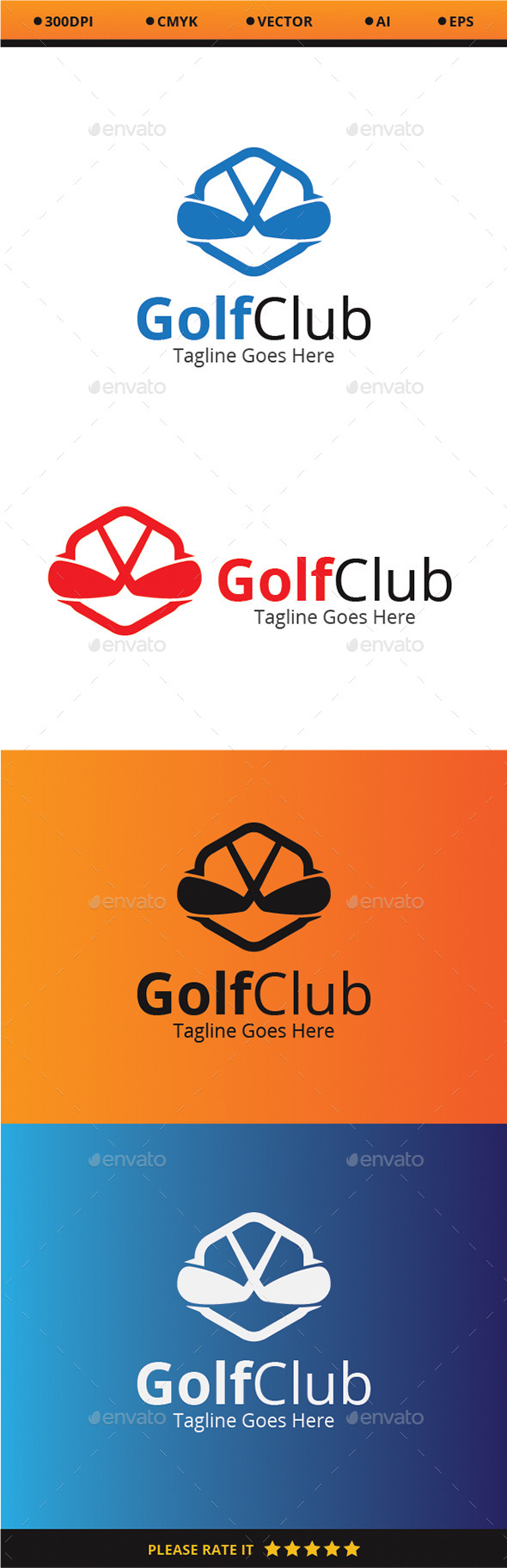 GraphicRiver Golf Club 9351616
