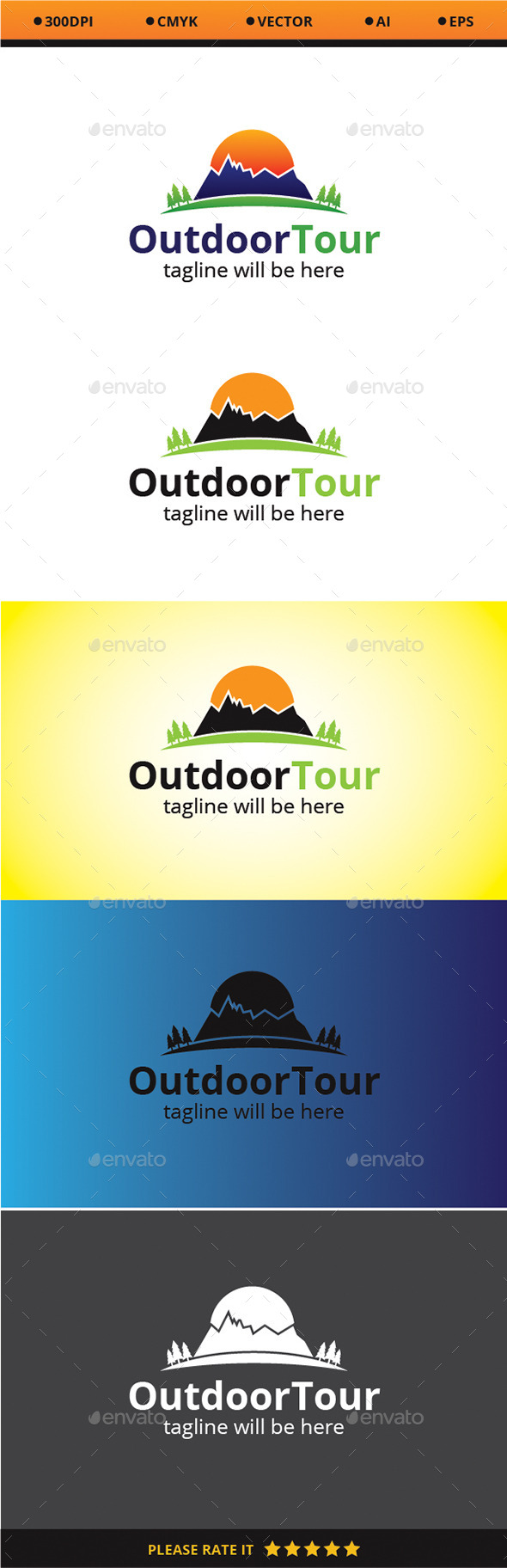 GraphicRiver Outdoor Tour 9351707