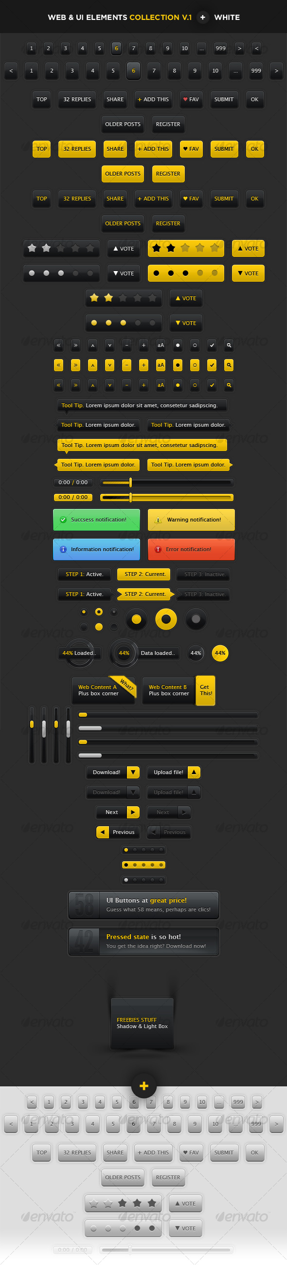 User Interface Elements. Web & Blogs. - User Interfaces Web Elements