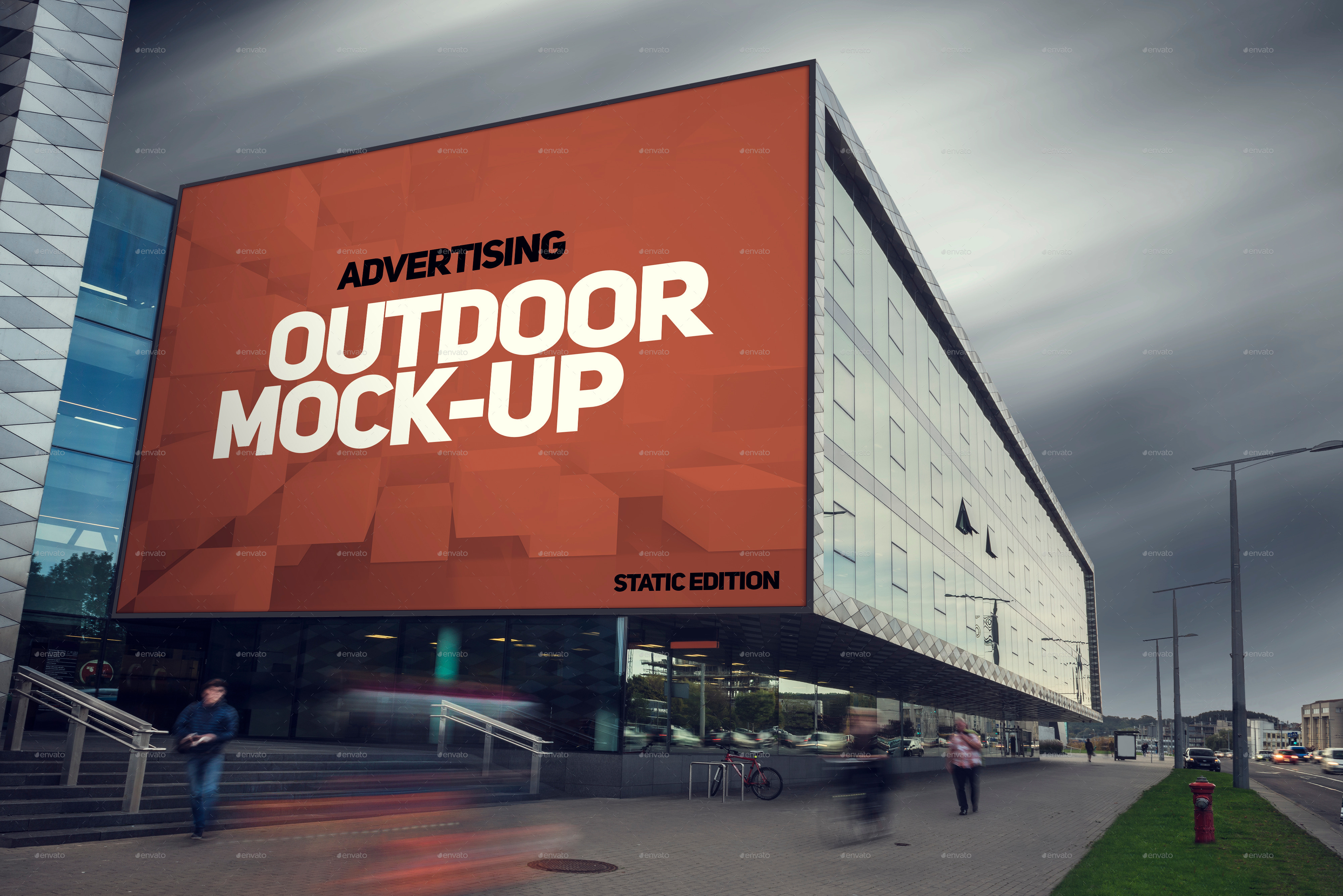 Animated Outdoor Advertising Mock-ups by Genetic96 | GraphicRiver