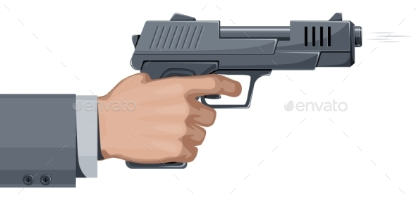 GraphicRiver Handgun 9351793
